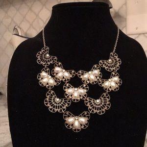 Anthropologie bib necklace